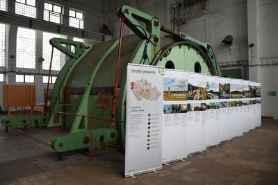 Výstava Národní geoparky ČR v Hornickém skanzenu Žacléř
